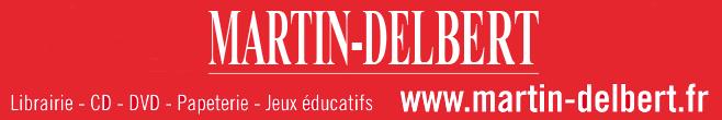 Logo: Librairie Martin-Delbert